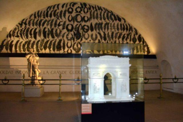 Музей внутри триумфальной арки