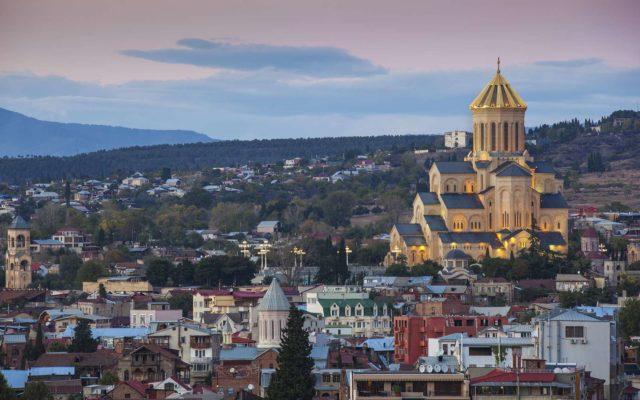 Новогодняя грузия