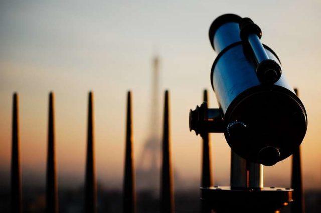 Телескоп на арке
