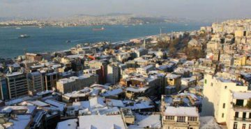 Турции в январе
