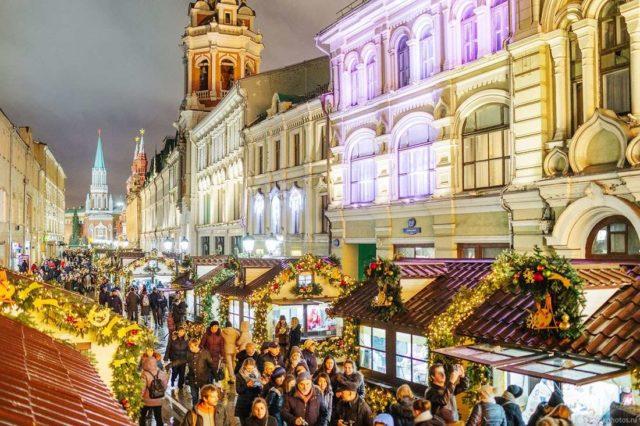 Ярмарки в Москве