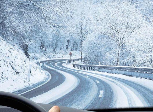 Поездка зимой
