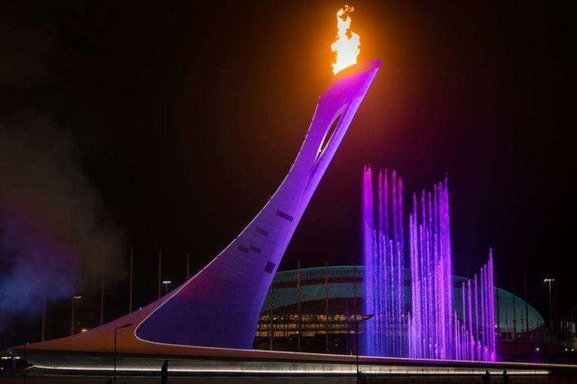 Факел в Сочи