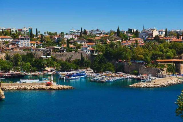 Море в Турции в июне