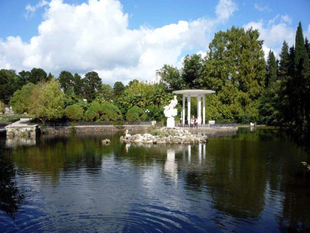 Нижний парк дендрария