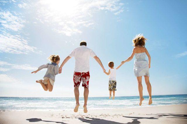 Семейный отдых на черном море