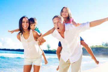 Отдых летом на море с детьми