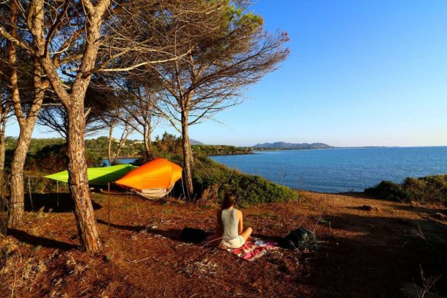 Отдых на Черном море с палатками