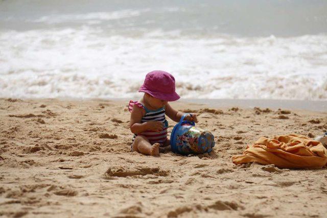 Пляжи с детьми
