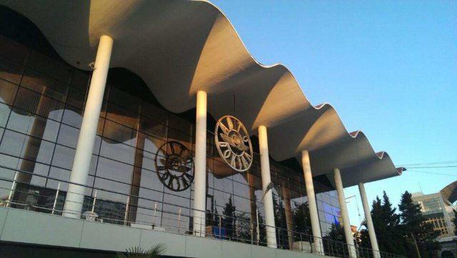 Вид на автовокзал Сочи