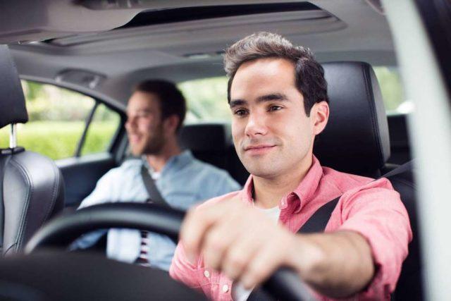 водитель с попутчиком