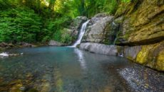 Змейковские водопады в Сочи