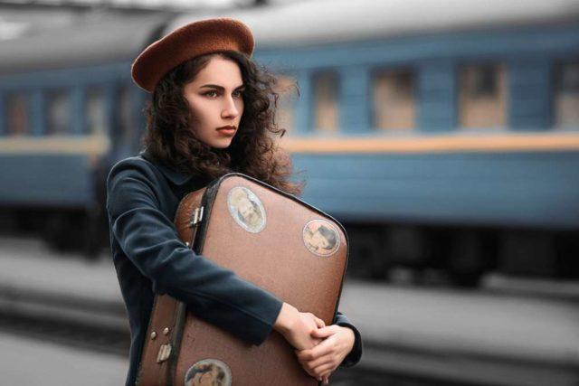 Поезд из Адлера в Абхазию