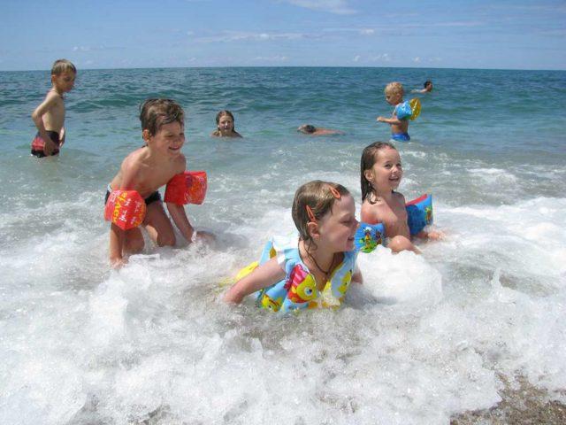 Море с детьми в Анапе летом