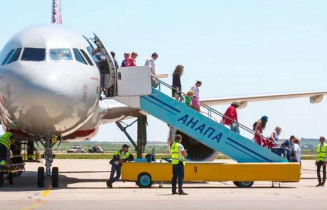 Самолет Анапа Сочи