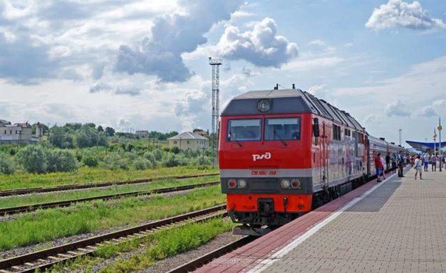 Поезд в Анапе