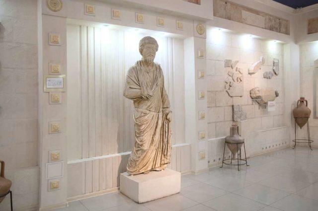 Крытая выставка в музее Горгиппия