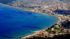 Город Влера в Албании