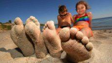 Азовское море с детьми