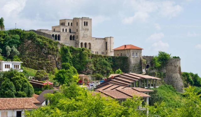 Крепость Круя