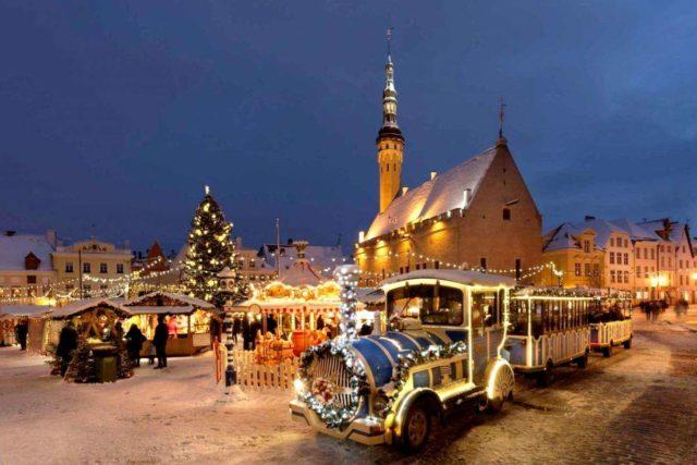 Новогодняя ночь в Таллине