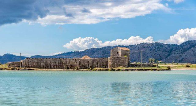 Озеро Бутринт