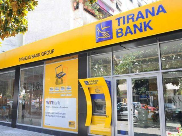 Тирана банк