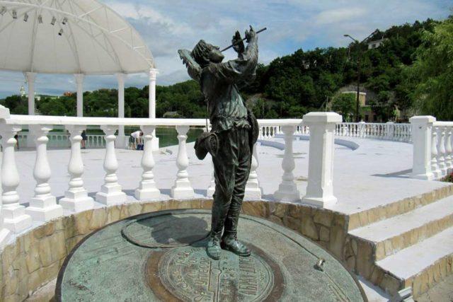 скульптура Утесов