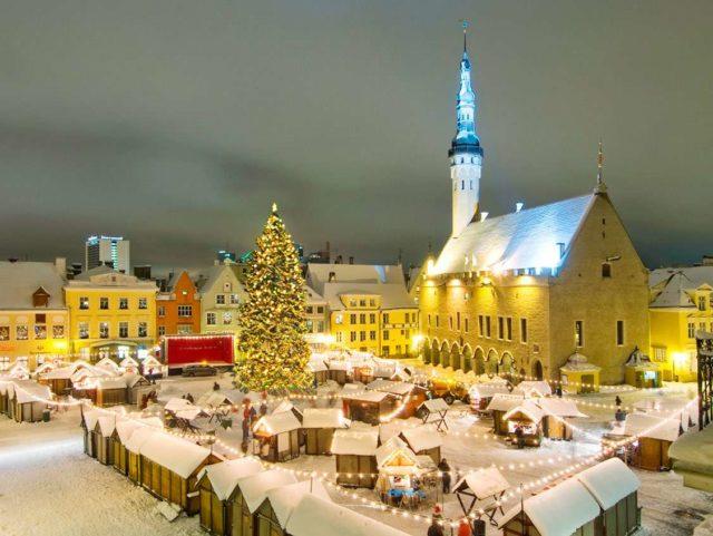 В центре Таллина