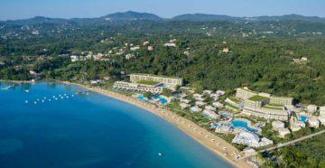 Курорт Дассия на Корфу