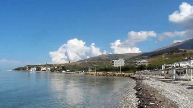 Пляж Orikum в Албании