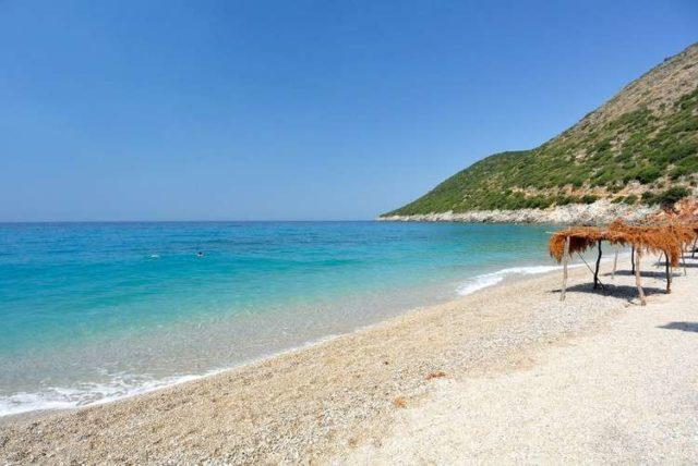 Palasa beach в Албании
