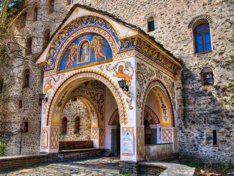 Архитектура Рильского монастыря