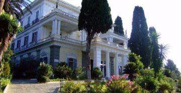 Дворец Ахиллеон на Корфу
