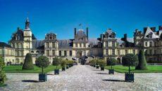 Дворец Фонтебло в Париже