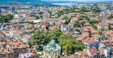 Город Варна в Болгарии