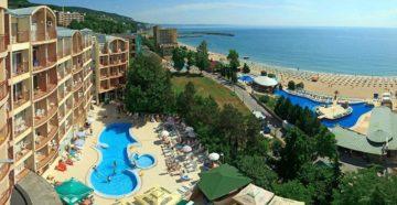 Отели курорта Золотые пески в Болгарии