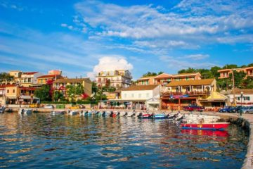 Курорт Кассиопи на Корфу