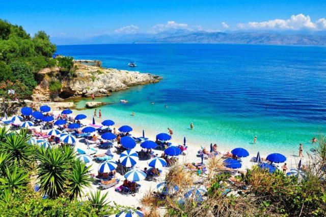 Пляжи Кассиопи