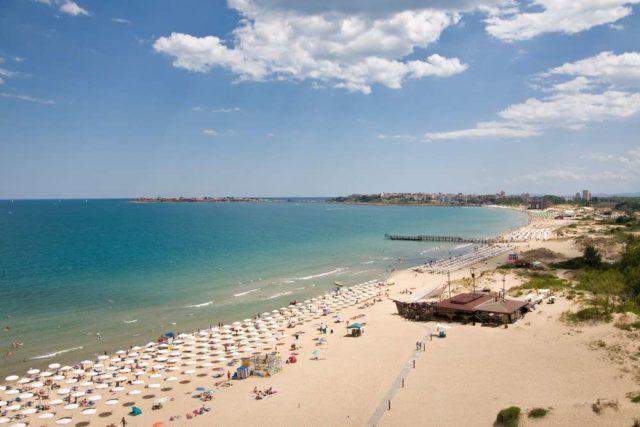 Пляжи курорта Несебр