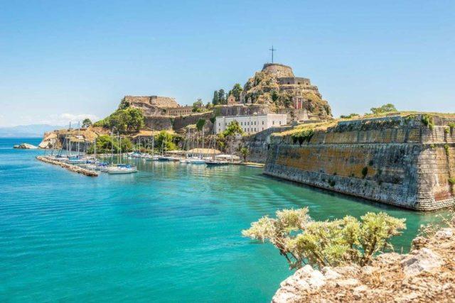 Крепость Керкиры