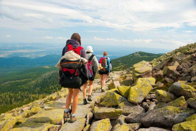 Пешком в горы в Болгарии