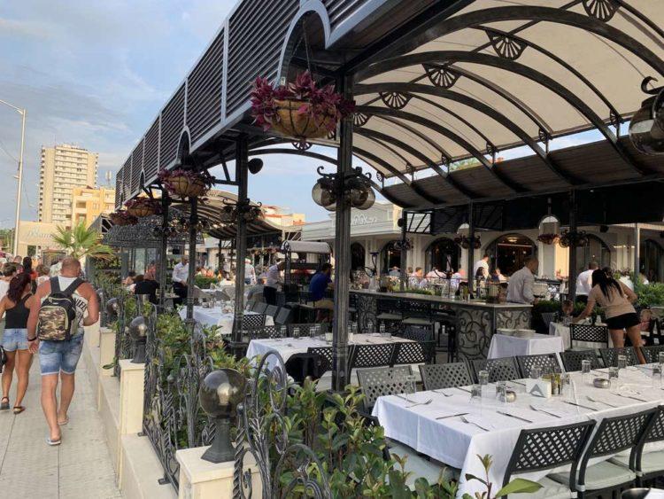 Рестораны курорта Солнечный берег