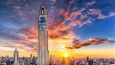Самое высокое здание в Бангкоке Baiyoke sky