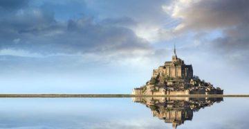 Замок Мон Сен Мишель