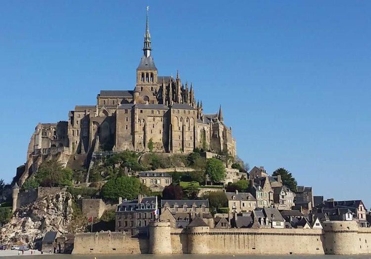 Архитектура замка Мон Сен Мишель