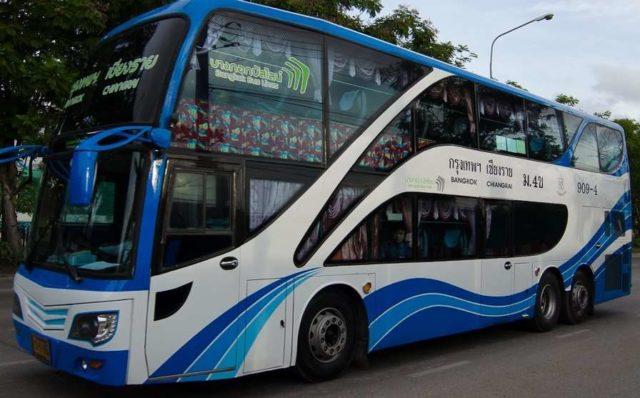 На автобусе из Бангкока на Пхукет