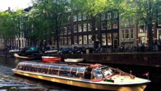 Прогулка на кораблике по Амстердаму