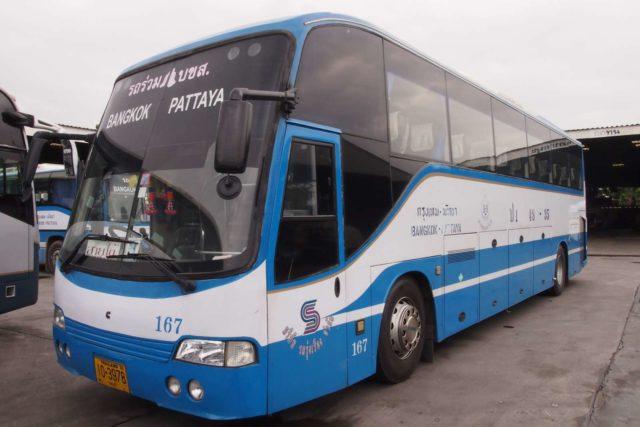 Автобус из Бангкока в Паттайю