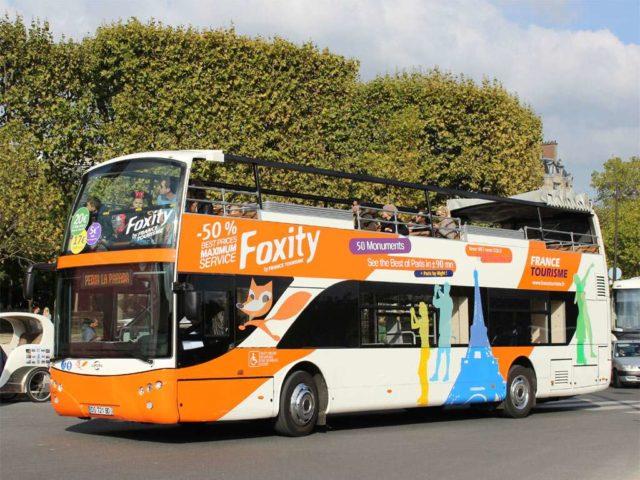 Bus foxity в Париже